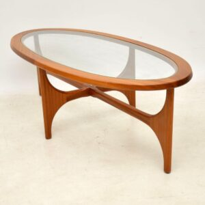 vintage teak coffee table by stonehill