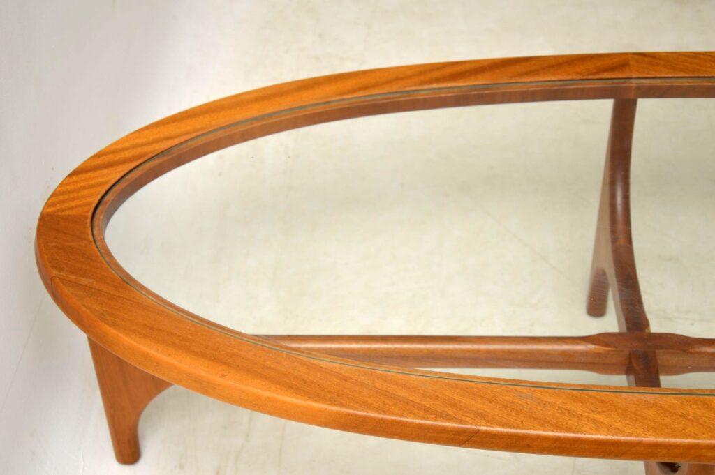vintage teak coffee table by stonehill