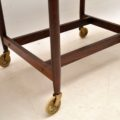 1960's Vintage Danish Rosewood Drinks Trolley by Poul Hundevad