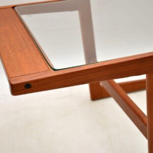 1960's Danish Teak Coffee Table by Sika Mobler