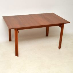 danish teak vintage dining table inger klingenberg