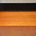 1950's Vintage Ebonised Walnut Sideboard