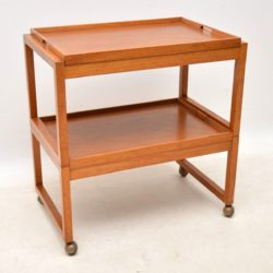 1960's Vintage Teak Serving Trolley by White & Newton