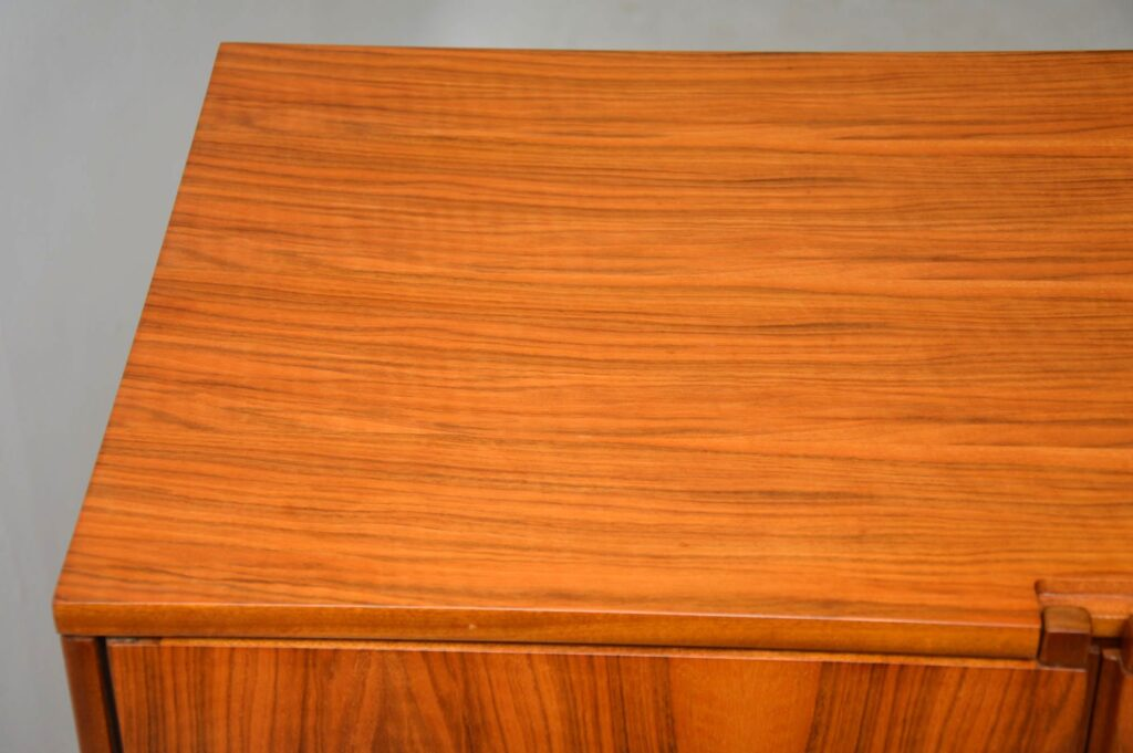 vintage walnut retro drinks cabinet robert heritage archie shine