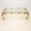 antique_vintage_brass_glass_coffee_table_3