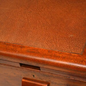 antique vintage mahogany desk waring and gillow