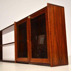 danish rosewood wall mounting sideboard