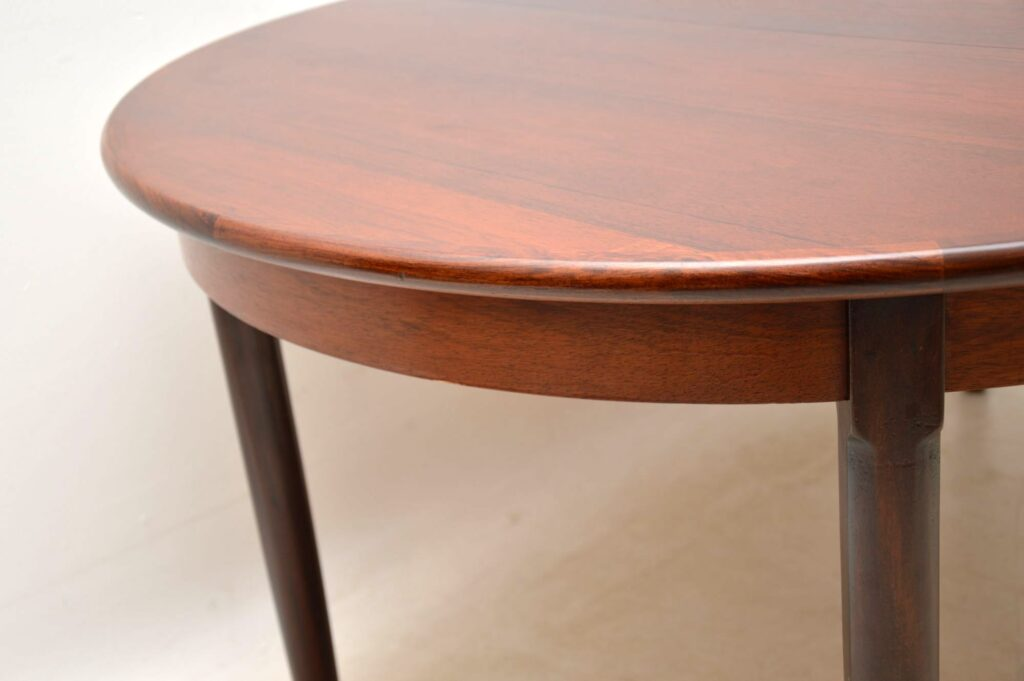 danish rosewood vintage dining table