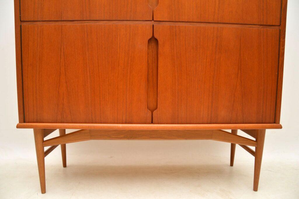 danish teak vintage retro cabinet sideboard fredericia