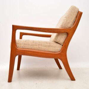 1960's Danish Teak Vintage Armchair