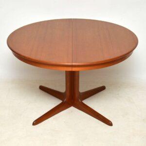 danish teak retro dining table niels koefoeds