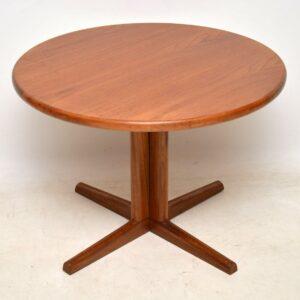 danish teak vintage retro dining table