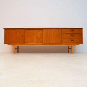 1960's Vintage Danish Teak Sideboard