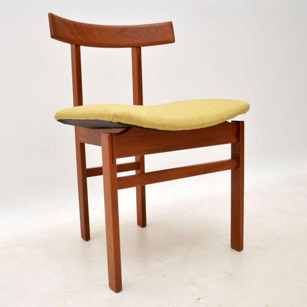 danish teak vintage retro chair inger klingenberg france and son