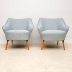 pair of vintage bartholomew cocktail chairs