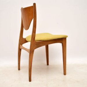set of four g- plan teak danish dining chairs