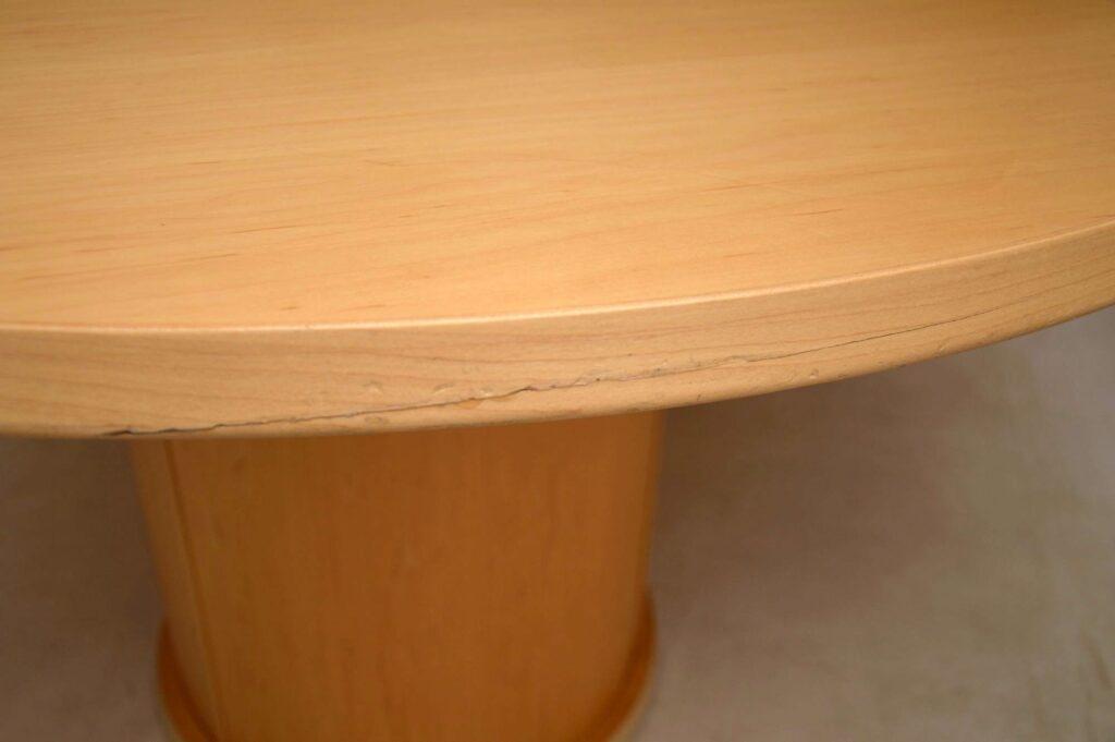 danish retro vintage dining table