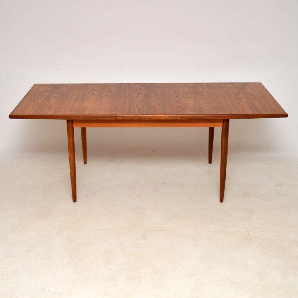 vintage teak g- plan dining table