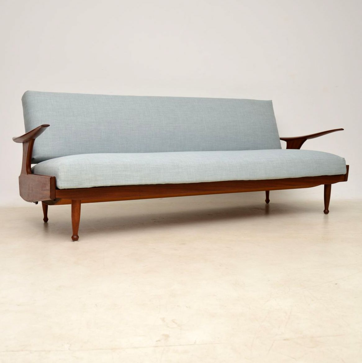 vintage sofa bed by greaves and thomas