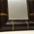 vintage_leather_gilt_wood_mirror_4