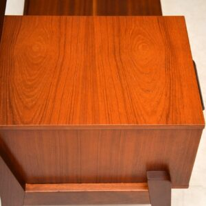 1960's Vintage Teak Entry Bench / Telephone Table