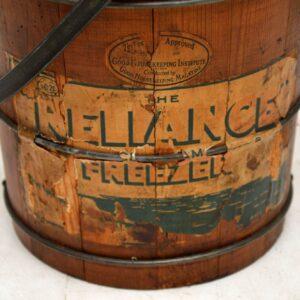 Antique 'Reliance' Ice Cream Churner by Husqvarna Sweden