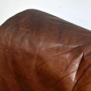 1960's Danish Vintage Leather Modular Sofa