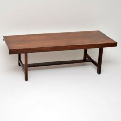 1960's Vintage Danish Rosewood Coffee Table