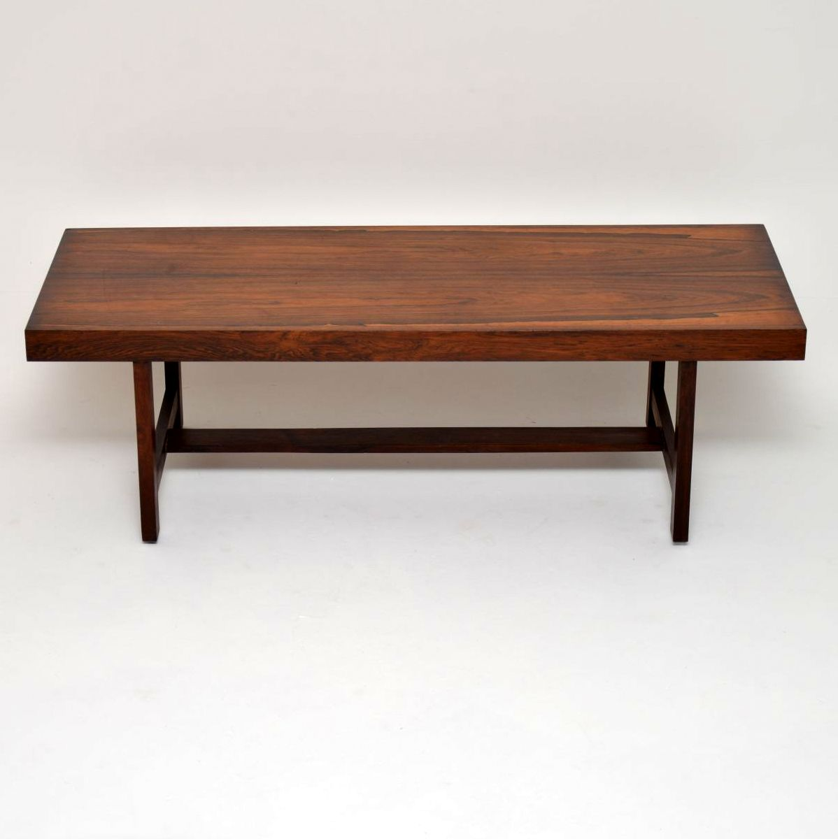 danish rosewood retro vintage coffee table