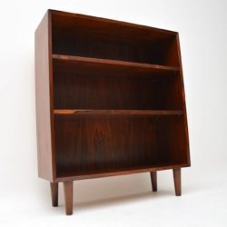 1960's Danish Vintage Rosewood Bookcase by Lyby Mobler