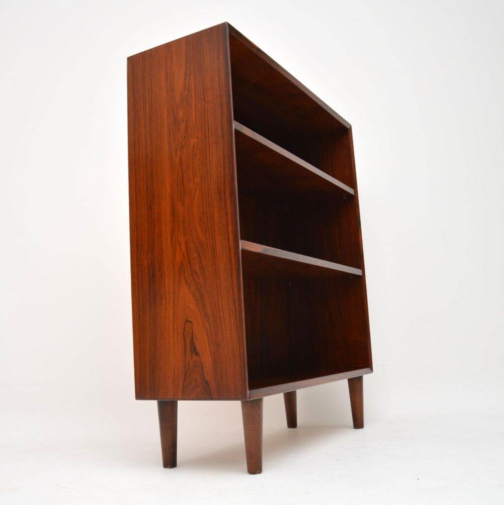 danish rosewood vintage bookcase