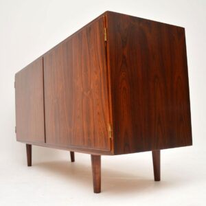 1960's Vintage Danish Rosewood Sideboard by Poul Hundevad