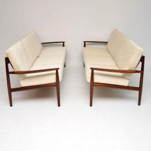 danish rosewood sofa grete jalk france and son