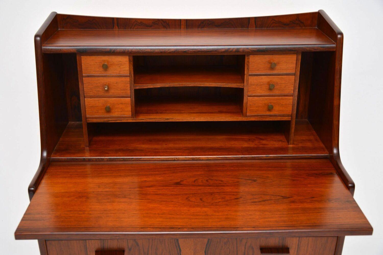 danish rosewood writing bureau
