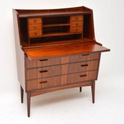 danish rosewood writing bureau