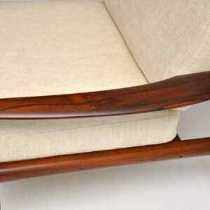 1960's Danish Rosewood Armchair by Grete Jalk for France & Son