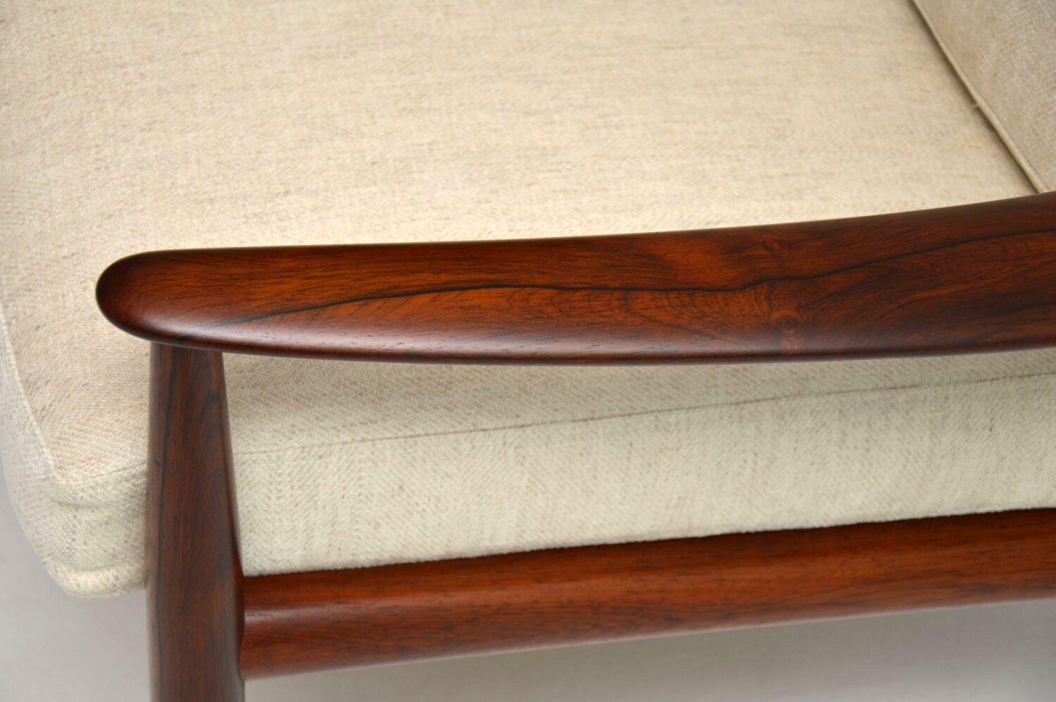 danish rosewood armchair grete jalk france and son