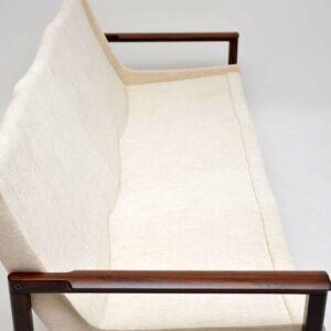 danish rosewood vintage sofa