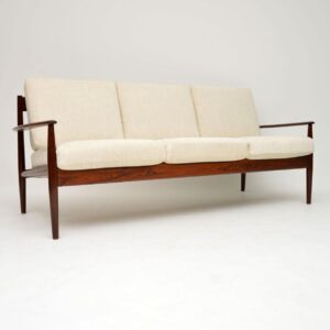 danish rosewood vintage sofa grete jalk france and son