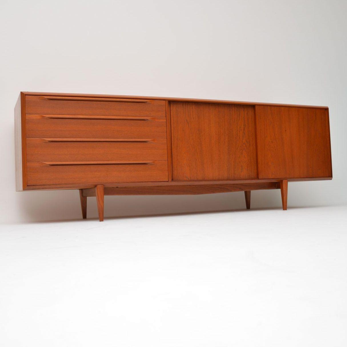 danish teak vintage sideboard bernhard pedersen