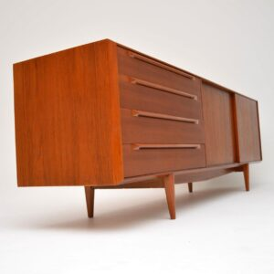 1960's Danish Vintage Teak Sideboard by IB Kofod Larsen for Fredericia
