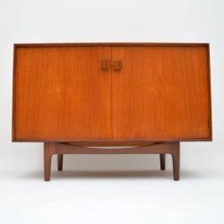 danish teak and rosewood sideboard cabinet by kofod larsen