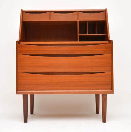1960's Danish Teak Bureau / Dressing Table by Arne Vodder