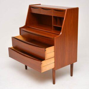 danosh teak vintage bureau dressing table arne vodder