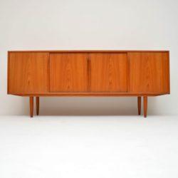 danish teak vintage retro sideboard gunni omann junior