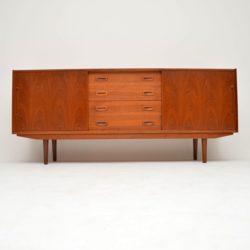 danish teak vintage sideboard mogens kold