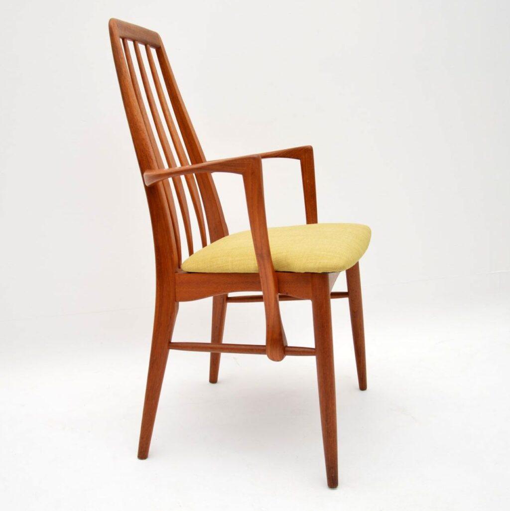 danish teak armchair niels koefoed