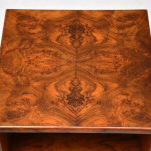 1920's Pair of Art Deco Burr Walnut Bedside Cabinets