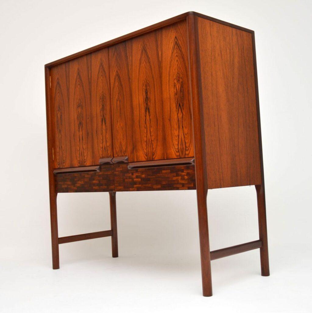 vintage rosewood drinks cabinet by mcintosh