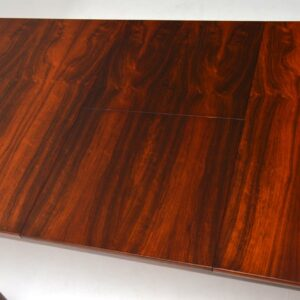 1960's Vintage Extending Rosewood Dining Table by McIntosh